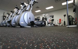 Rubberized Gym Floor